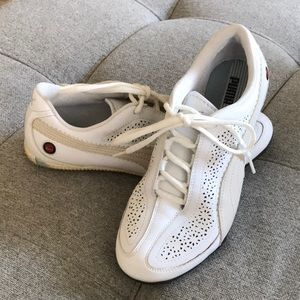 Puma Leather Shoes Size 9